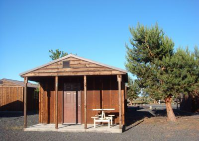 Our cozy Central WA rustic cabins